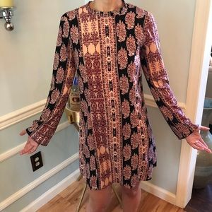 BCBG colorful dress with designs